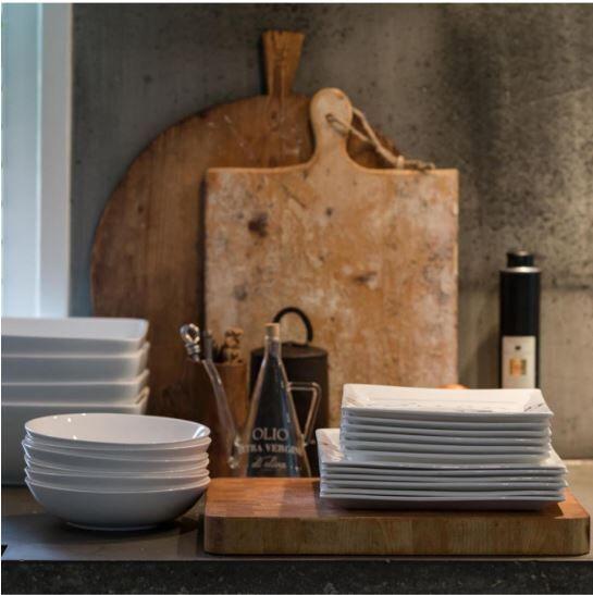 Talerz Buon Appetito 22x22 cm Riviera Maison