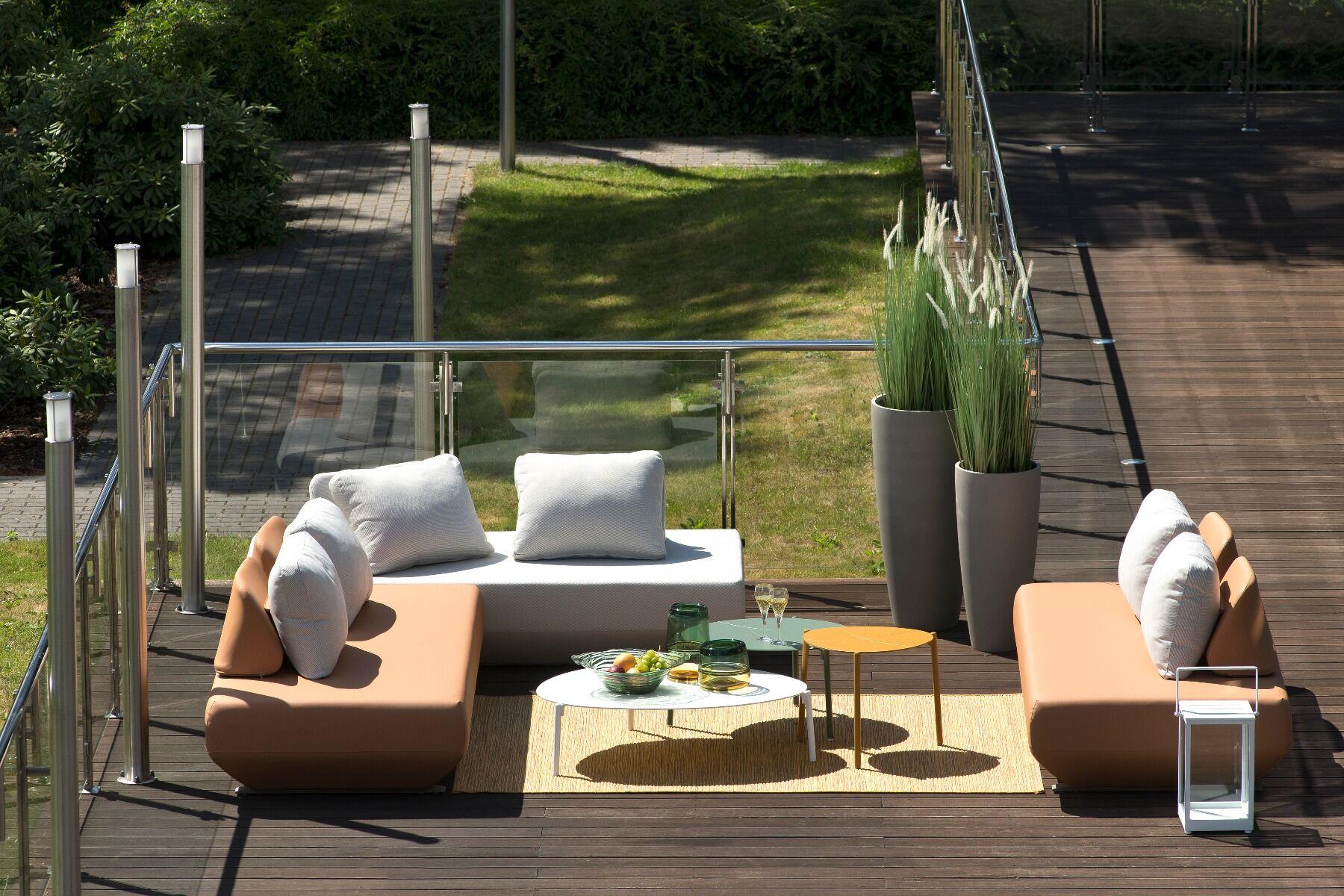Sofa ogrodowa Isla 212x100x43 cm