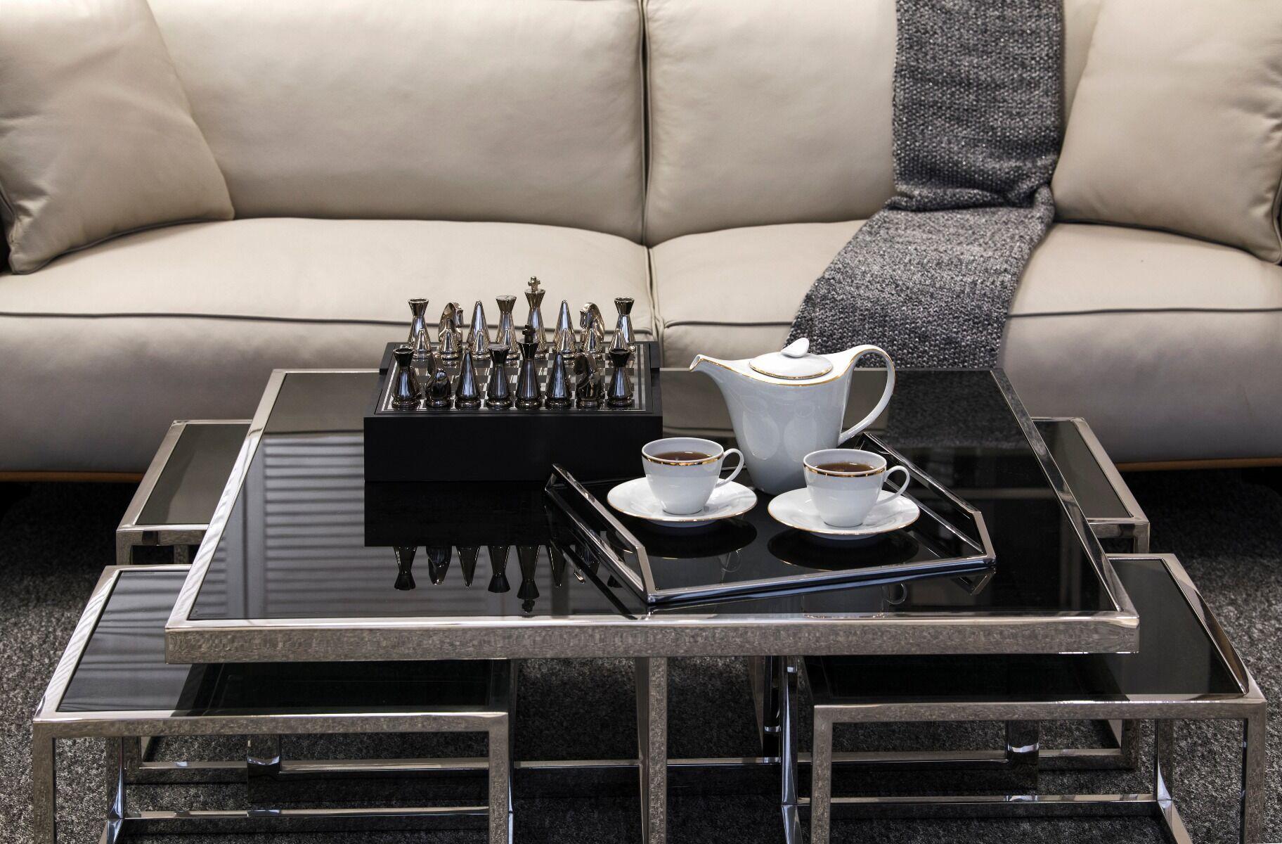 Stolik kawowy Monogram 100x100x40 cm
