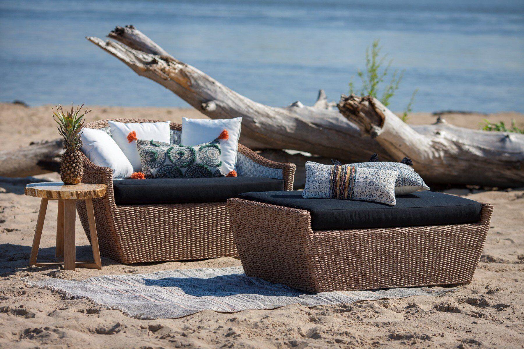 Sofa ogrodowa Lotus 90x130x68cm