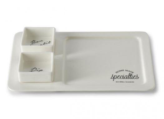 Patera Specialites Dip Plate 20x4x30 cm Riviera Maison