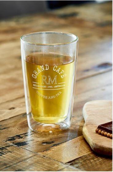 Szklanka Grand Cafe Glass L 8,5x13,5 cm Riviera Maison