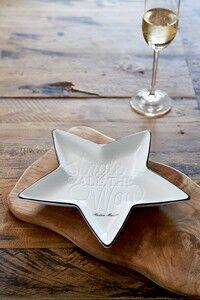 Talerz Jingle All The Way Star Plate Riviera Maison