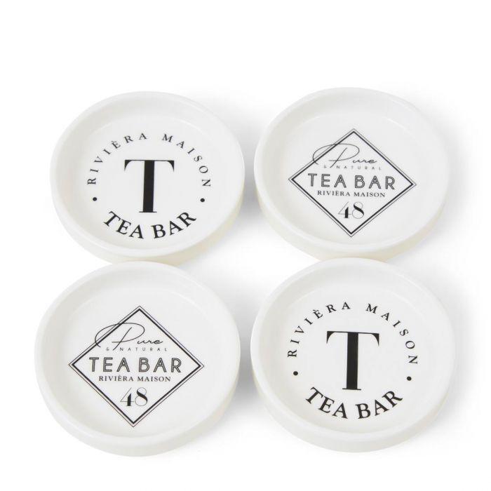 Zestaw podkładek Tea Bar Porcelana 4szt