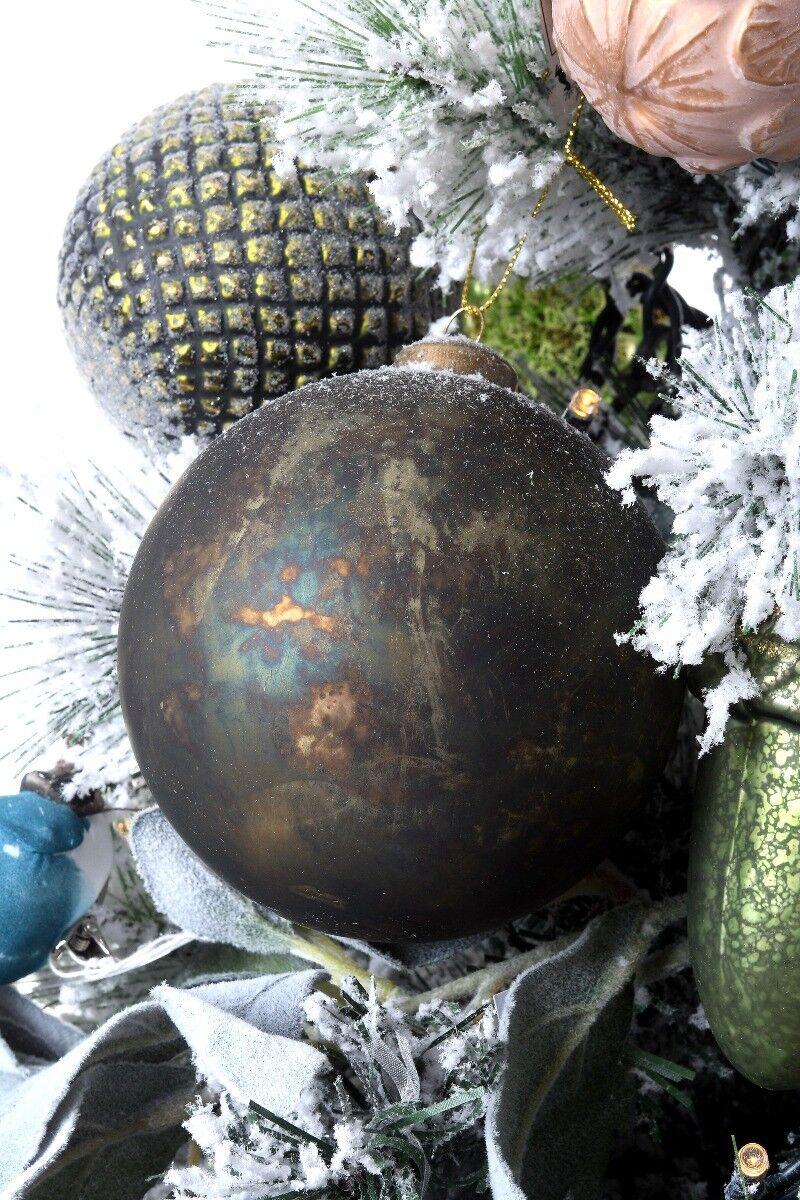 Złota bombka 10cm