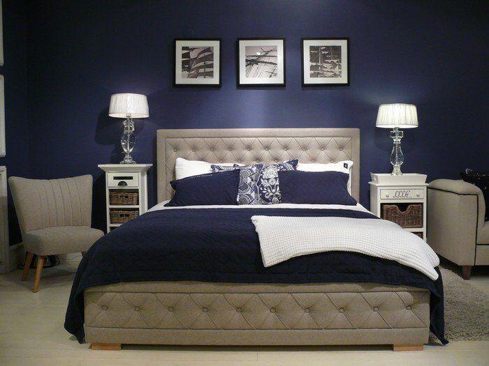 Łóżko Loraine z pojemnikiem na pościel 158x224x15cm