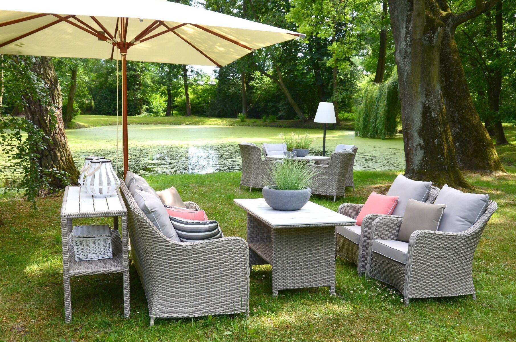 Fotel ogrodowy z poduszkami Grace