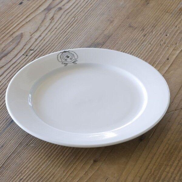 Talerz śniadaniowy Breakfast plate śr. 23cm Riviera Maison