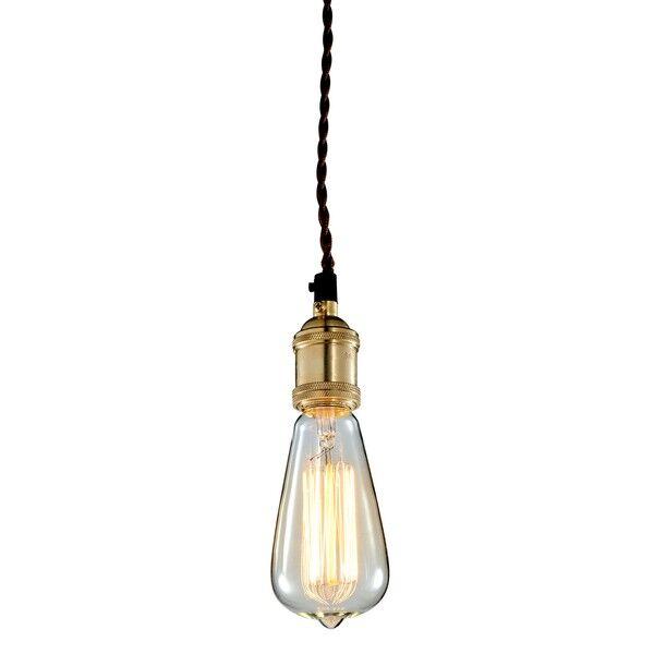 Lampa wisząca Edi śr.7x17cm