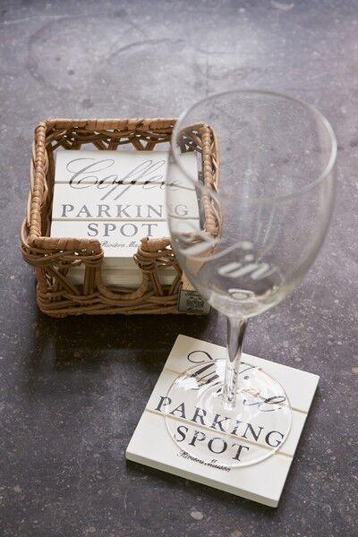 Podstawki pod szklanki Parking Spot Coasters - 6 szt Riviera Maison
