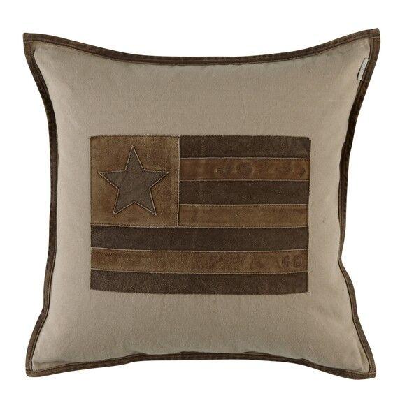 Poszewka US Leather Star 50x50 cm