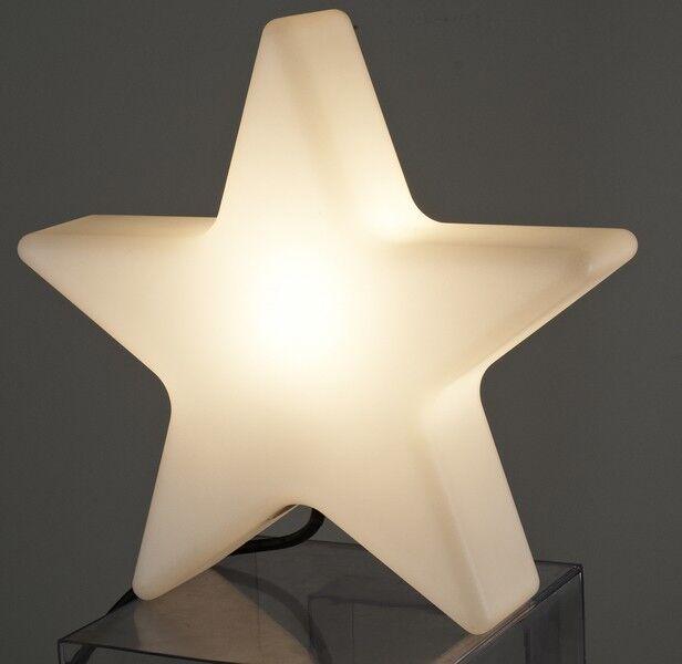 Lampa Gwiazda Biała 32x9x35cm