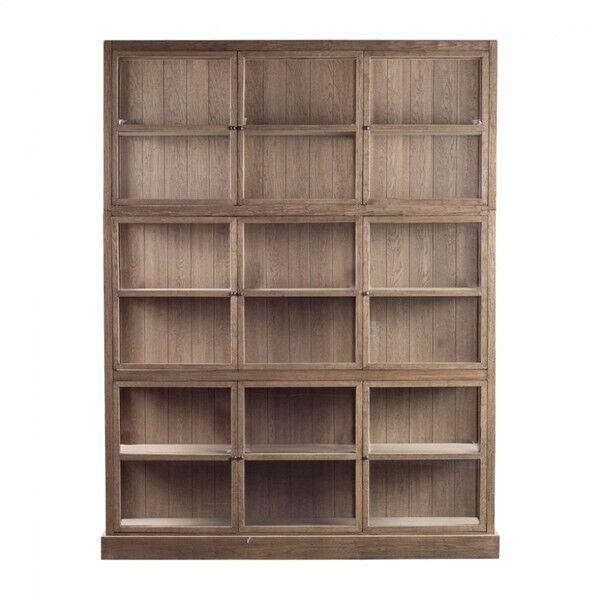Biblioteka otwarta Dilon dąb 180x45x230