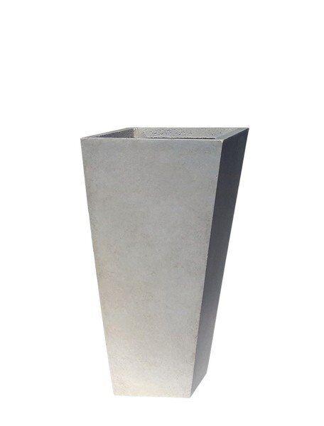 Donica ogrodowa ceramiczna 19x19x39cm