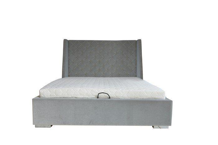 Łóżko Loretha z pojemnikiem na pościel 178x224x125cm