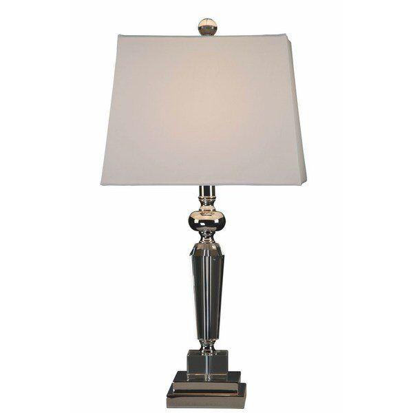 Lampa stołowa Avery Square 38x38x60 cm