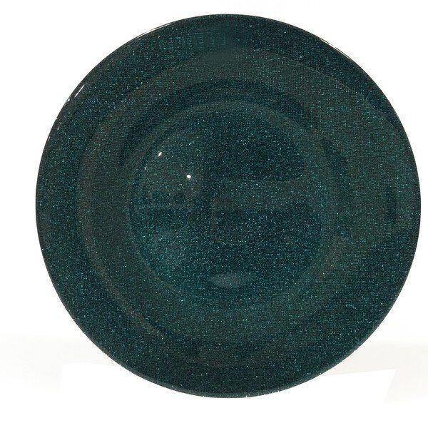 Talerz deserowy Carmen Gloss Peacock 21 cm