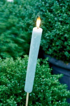 Pochodnia ogrodowa Garden Torch Green L 4,5x80 cm Riviera Maison