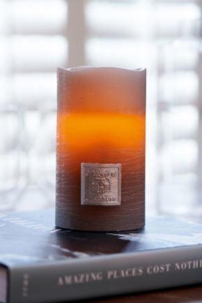 Lampka Classic Led Candle 7,5x12,5 cm Riviera Maison