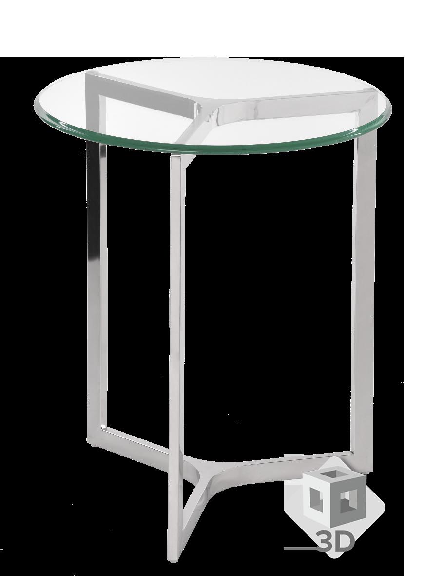 Stolik boczny Avenue 50x50x60 cm
