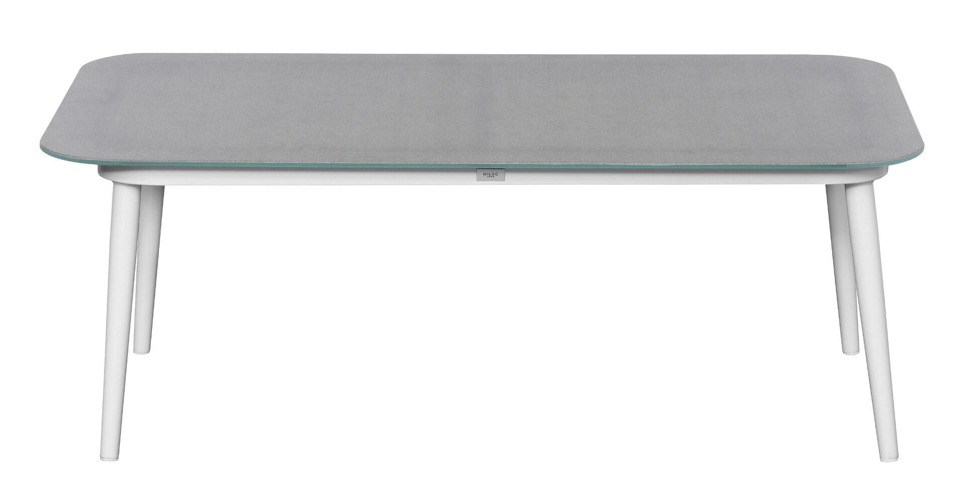 Zestaw mebli ogrodowych Akra 4 elementy aluminium