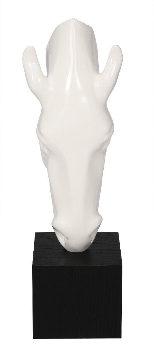 Figurka na podstawie głowa konia 74x27x25cm