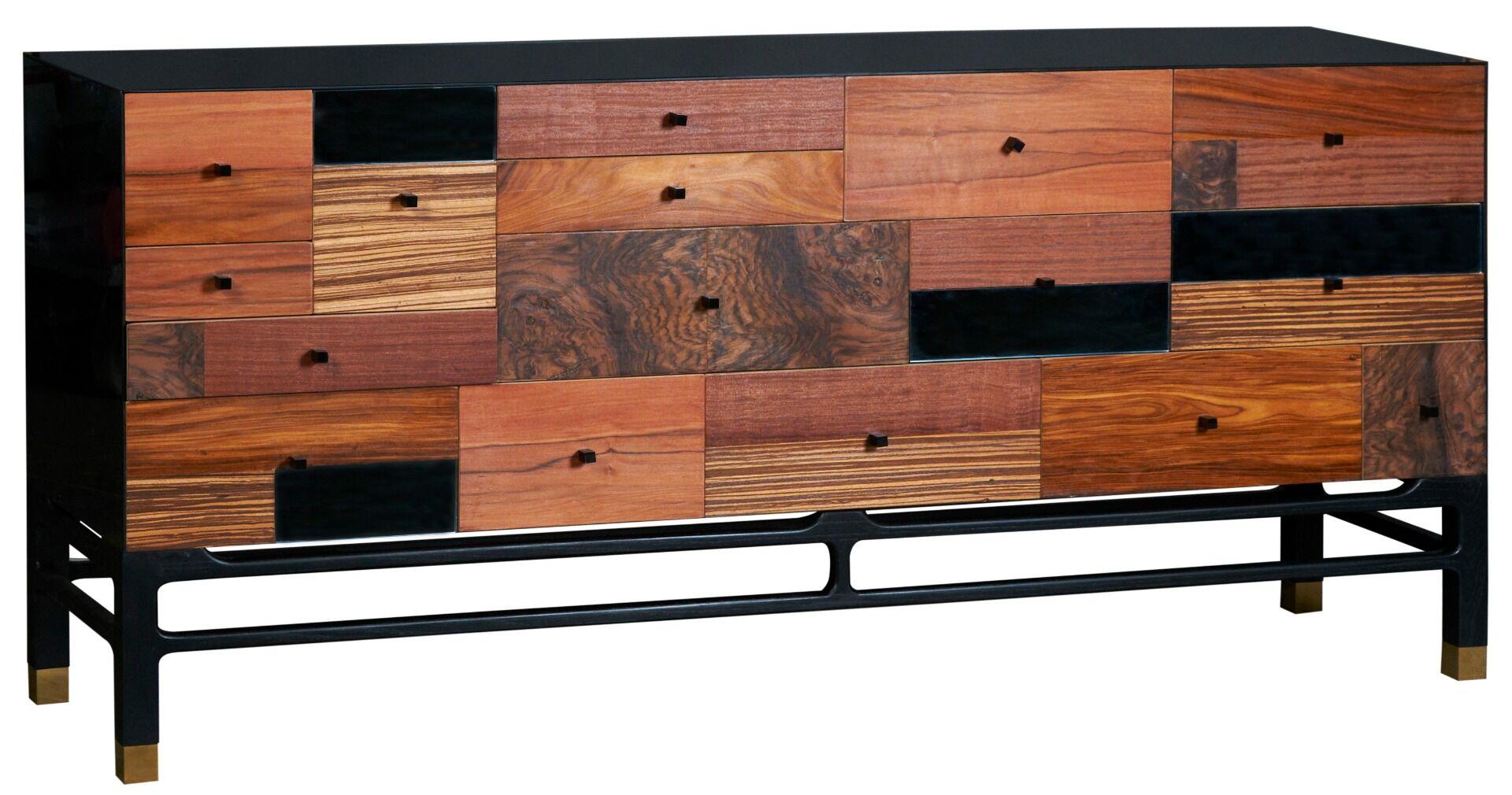Komoda Modern Copper z szufladami 200x50x85cm