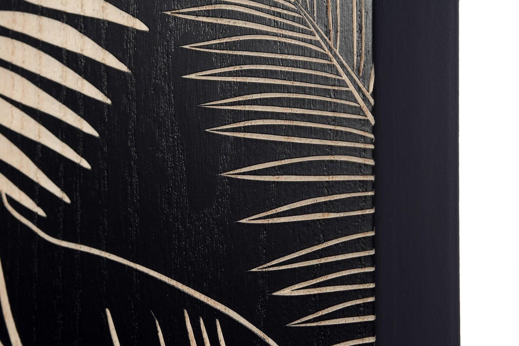 Panel dekoracyjny Fern Leaves 3 częściowy 60x4x130cm