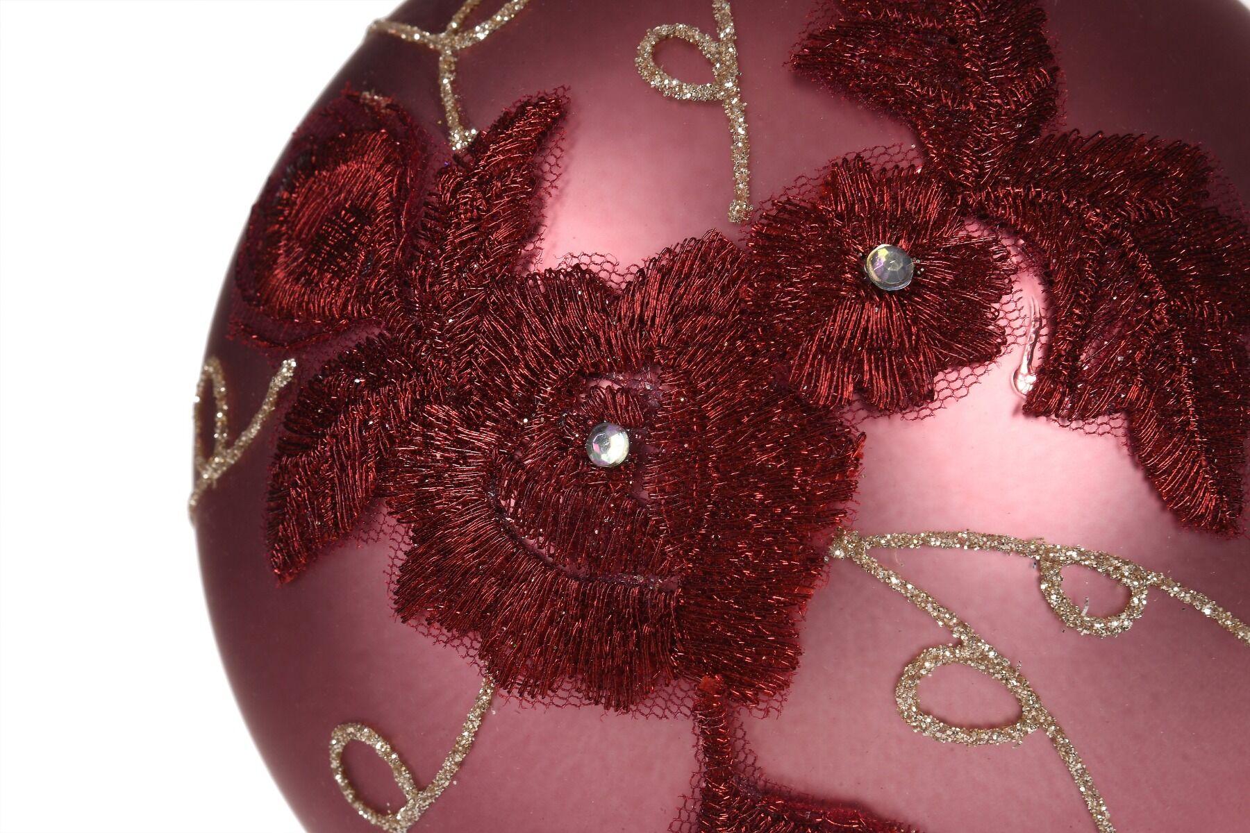 Bombka ornament mat 12cm