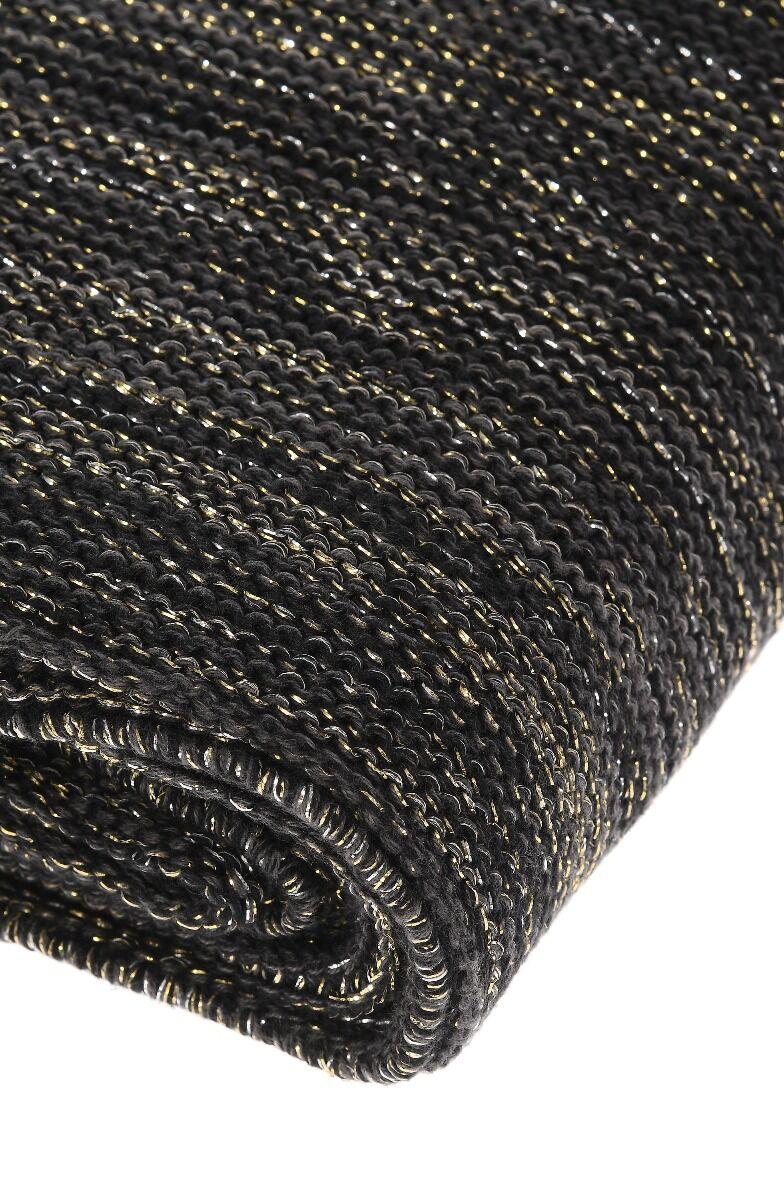 Koc Glitter Antrazite 125x150cm
