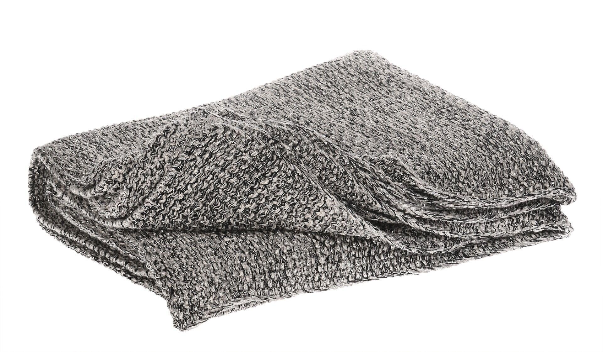Koc Glitter Grey 125x150cm