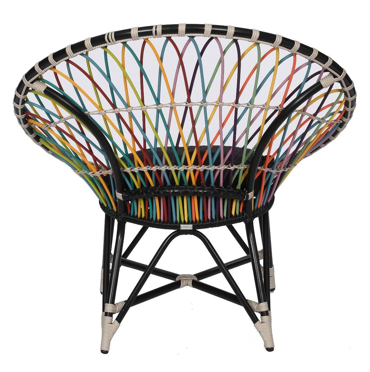 Fotel Rainbow Ivy 101x78x103cm