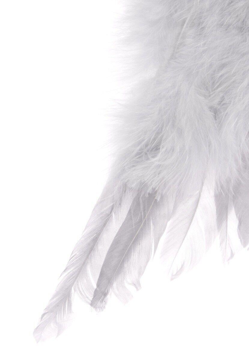Zawieszka z piór skrzydła anioła XL
