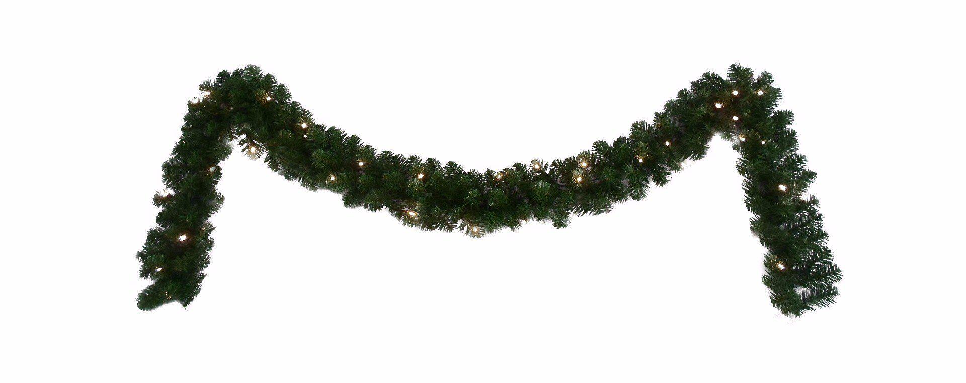 Zielony łańcuch 40LED 20x180cm