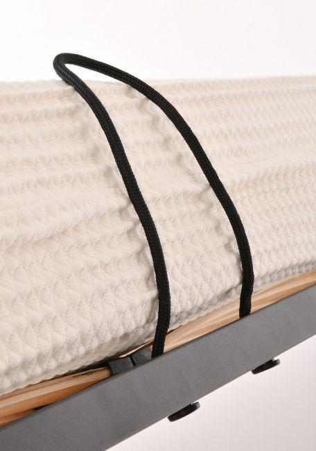 Łóżko Jerome z pojemnikiem na pościel 198x224x140cm