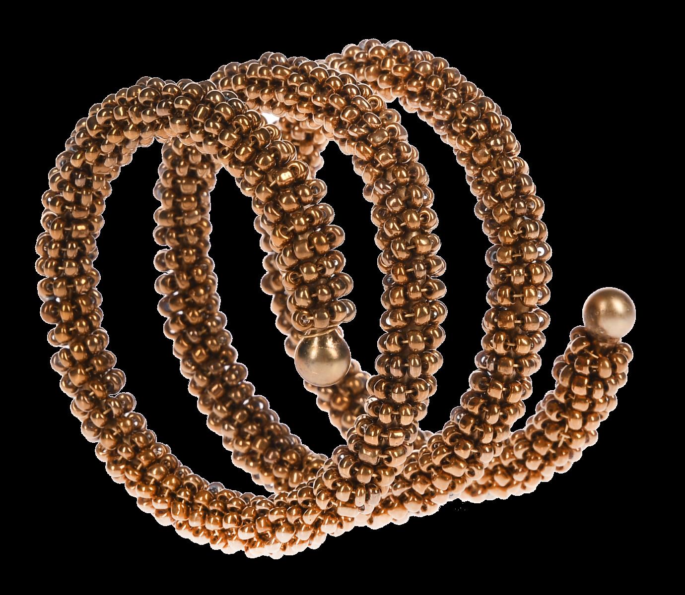 Pierścień na serwetki koraliki 5cm