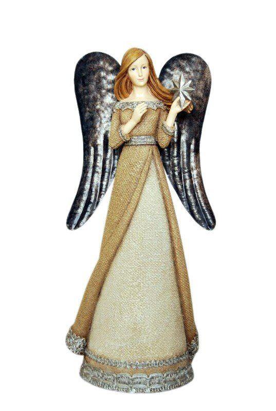 Figurka Anton Angel 12x10x29cm