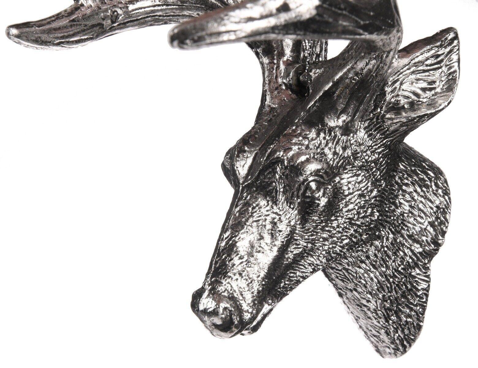 Zawieszka srebrna renifer 10cm