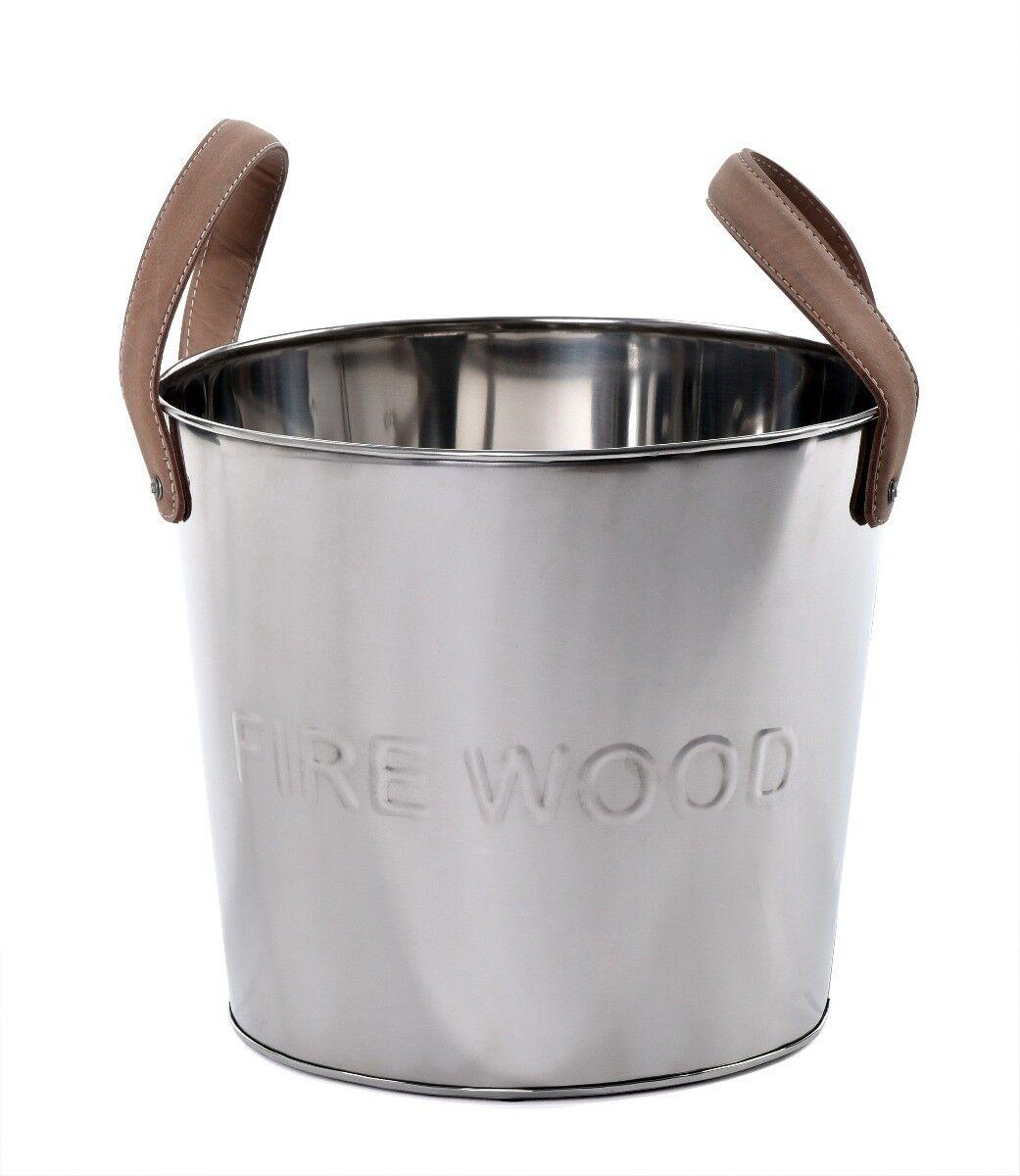 Pojemnik na popiół i drewno Ardent 22x22x24 cm