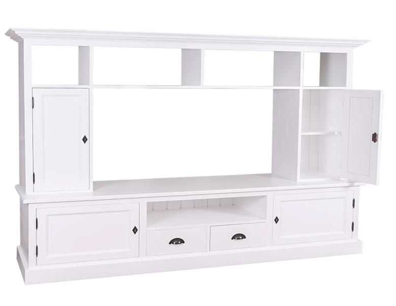 Zabudowa TV Tyr 207x46x166 cm