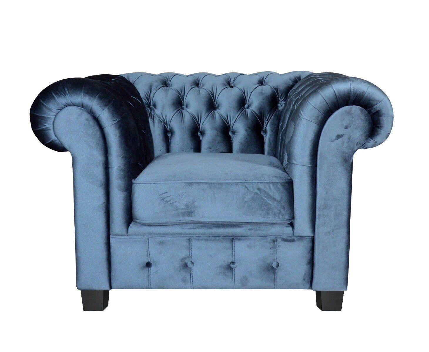 Fotel Chesterfield 109x90x73cm