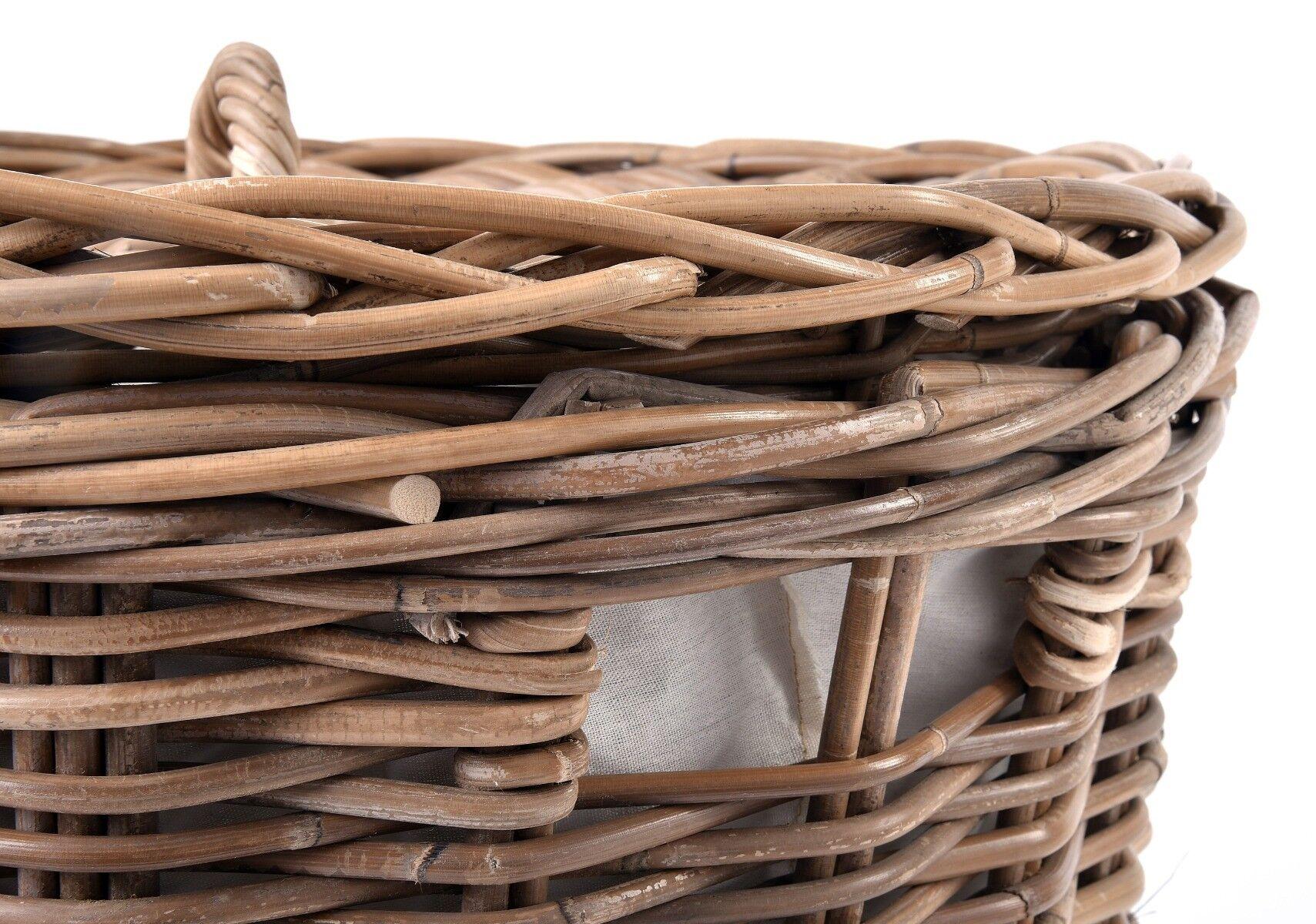 Kosz Rustic Laundry 53x53x63cm