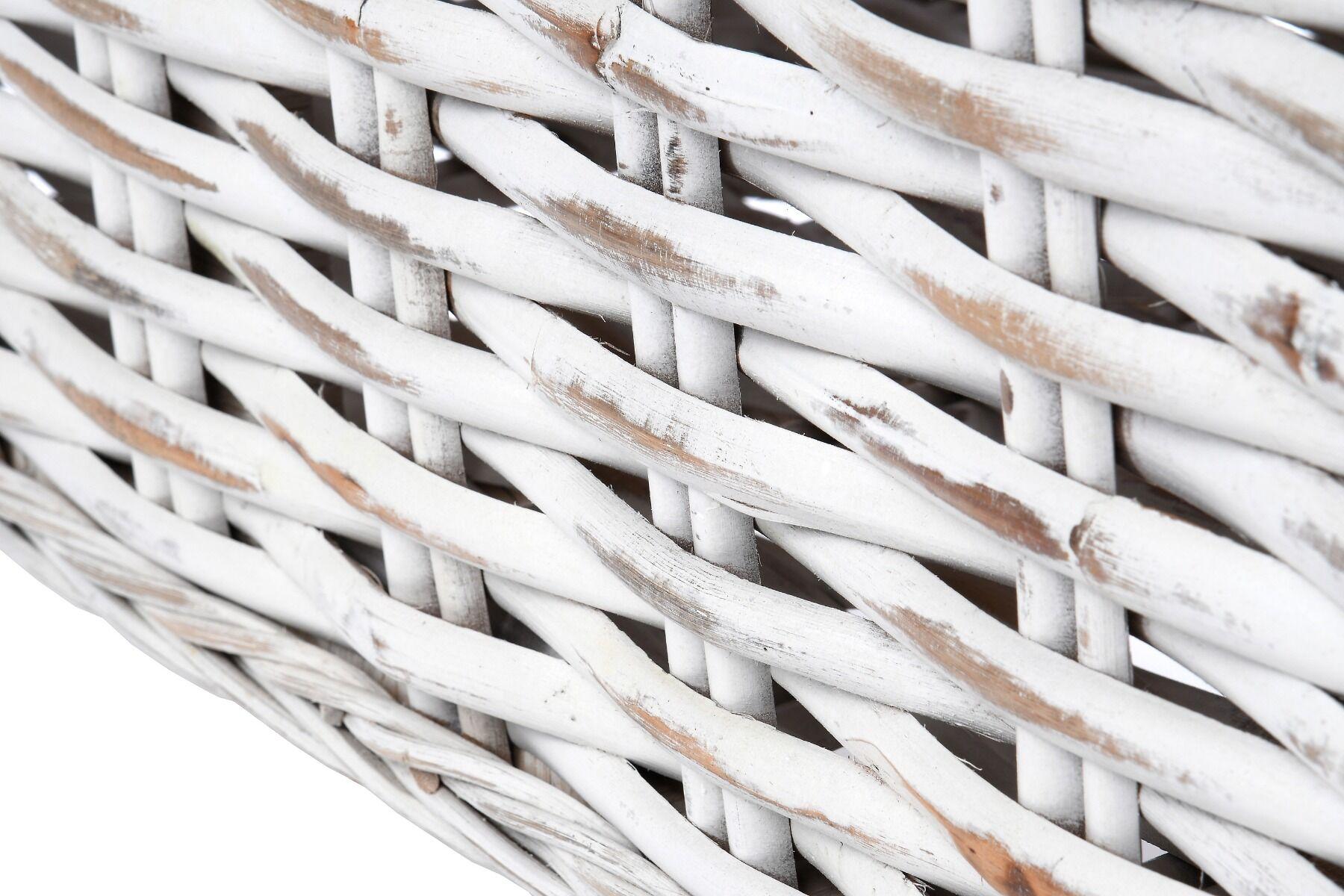 Skrzynia z drewnianym blatem Nell 161x42x47cm