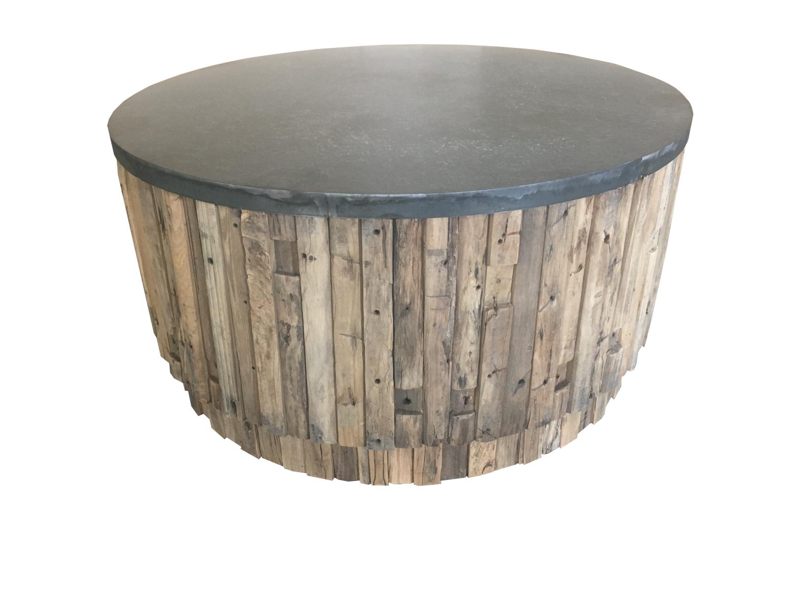 Stolik kawowy Lui okrągły śr.100x50cm