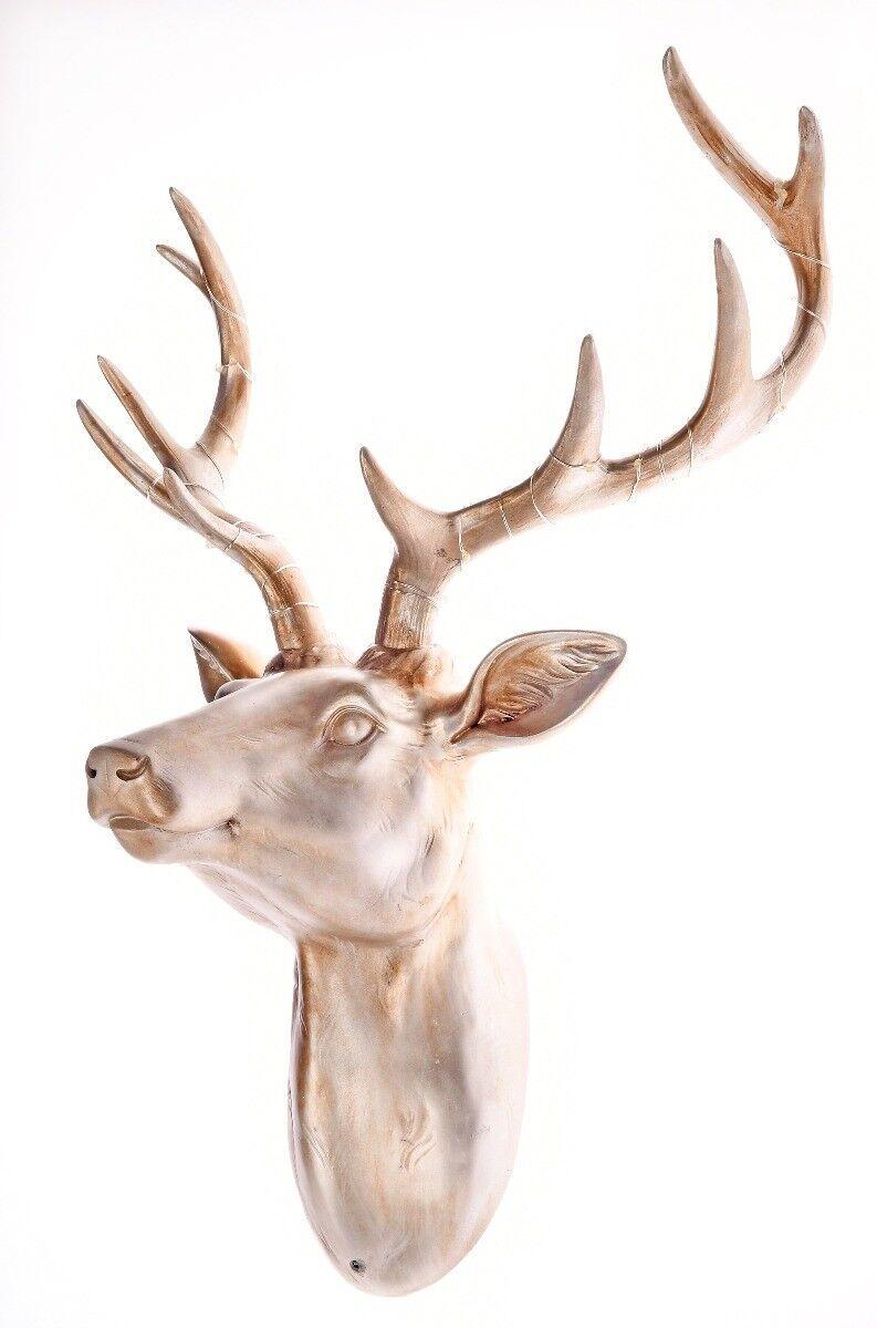 Głowa jelenia z LED 45x23x42cm