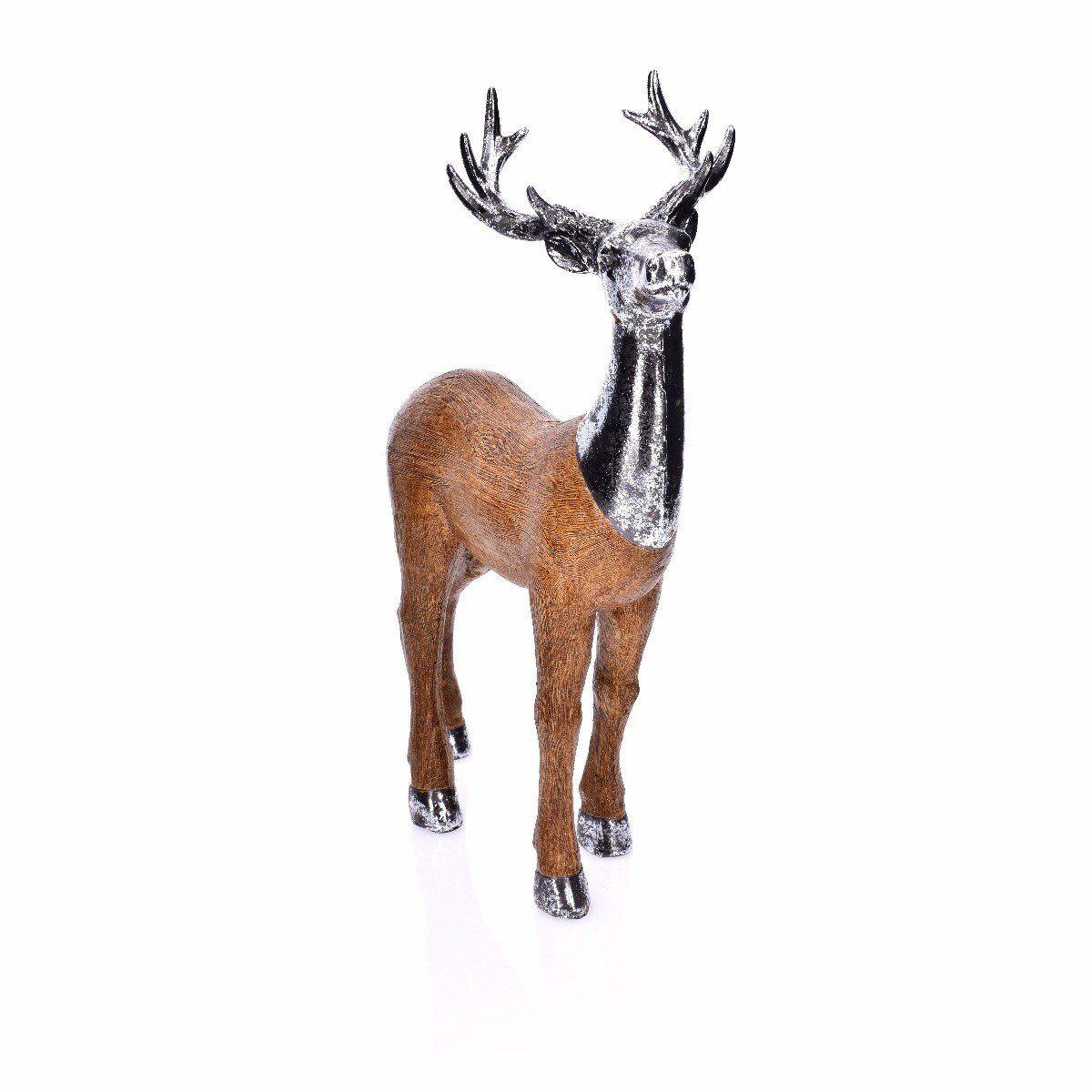 Figurka Jeleń stojący 23x14x39cm