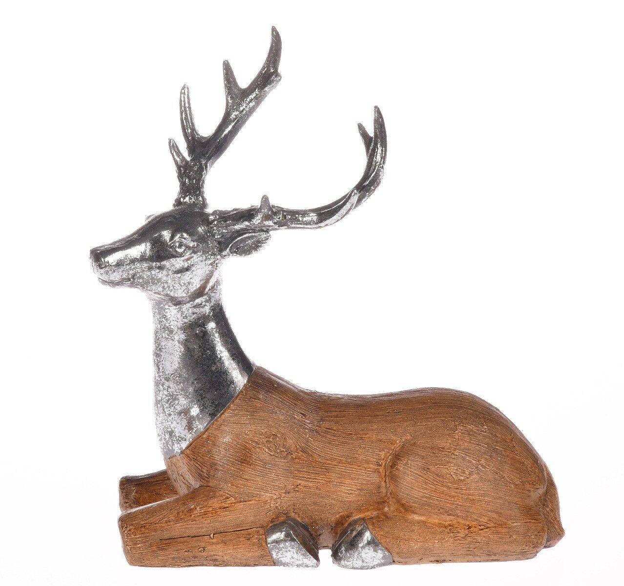 Figurka jeleń leżący 25x13x26cm