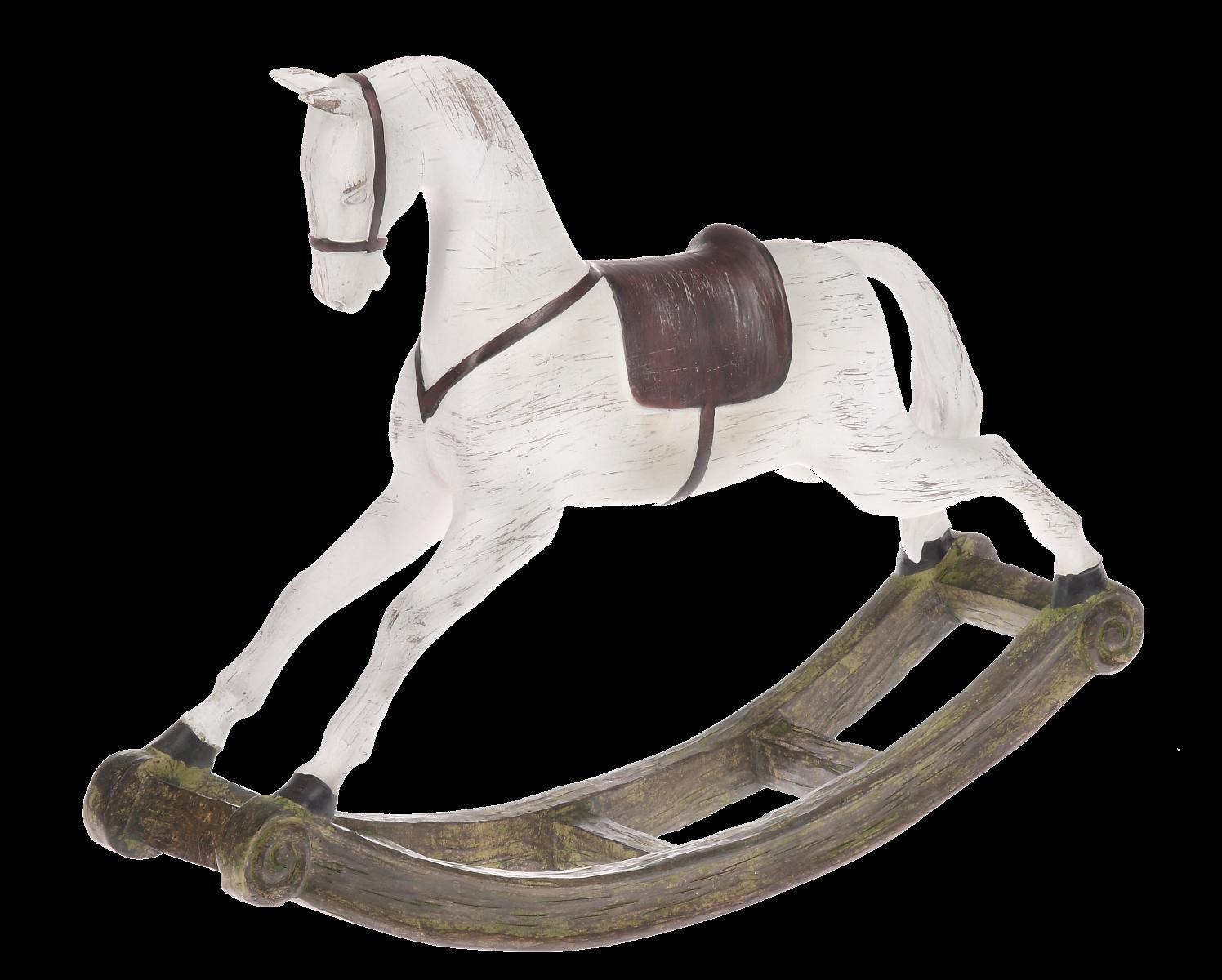 Figurka koń na biegunach 30x9x40cm