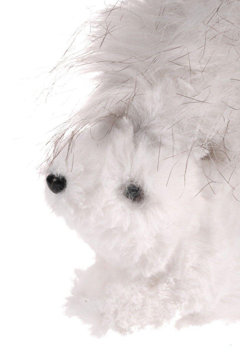 Figurka biała wiewiórka 12x6x11cm