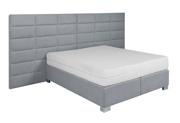 Łóżko Margethe z pojemnikiem na pościel 340x220x200 cm